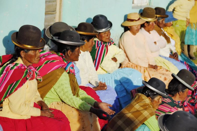 gifts in bolivia - bowler hats