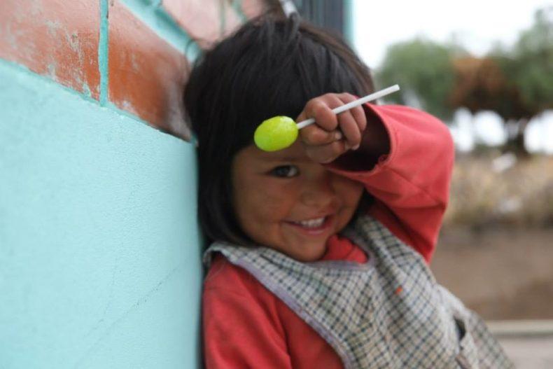 Bolivian-child