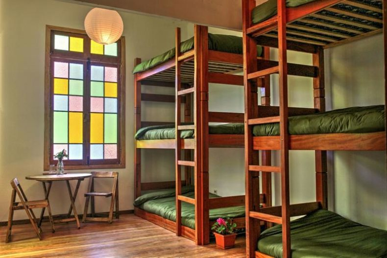 bunkbeds at 3600 hostel