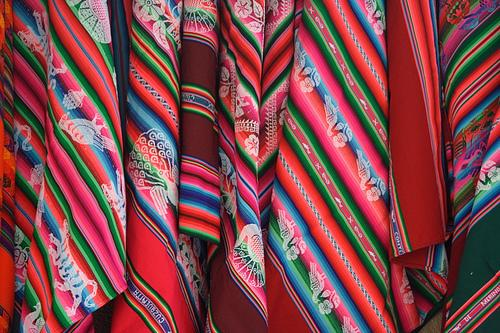 textiles gifts from bolivia