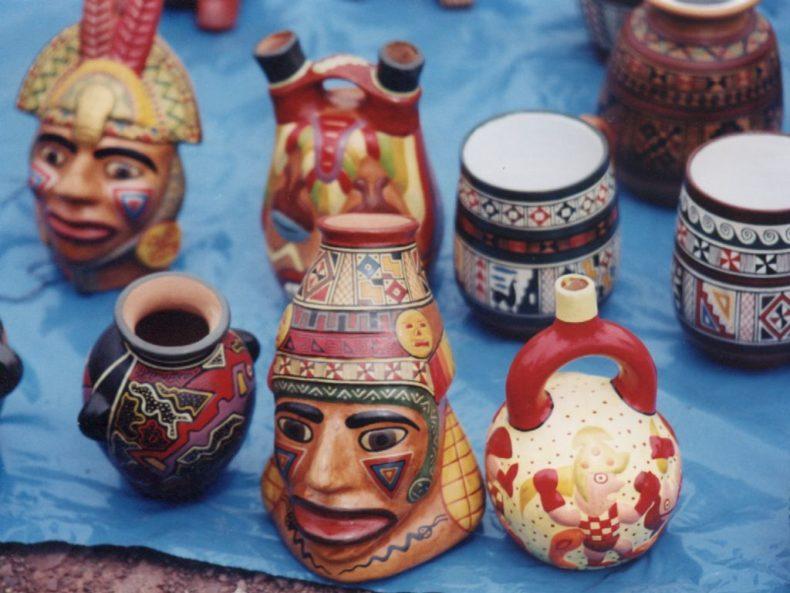 bolivian pottery