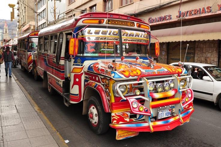 Micros Transportation in Bolivia