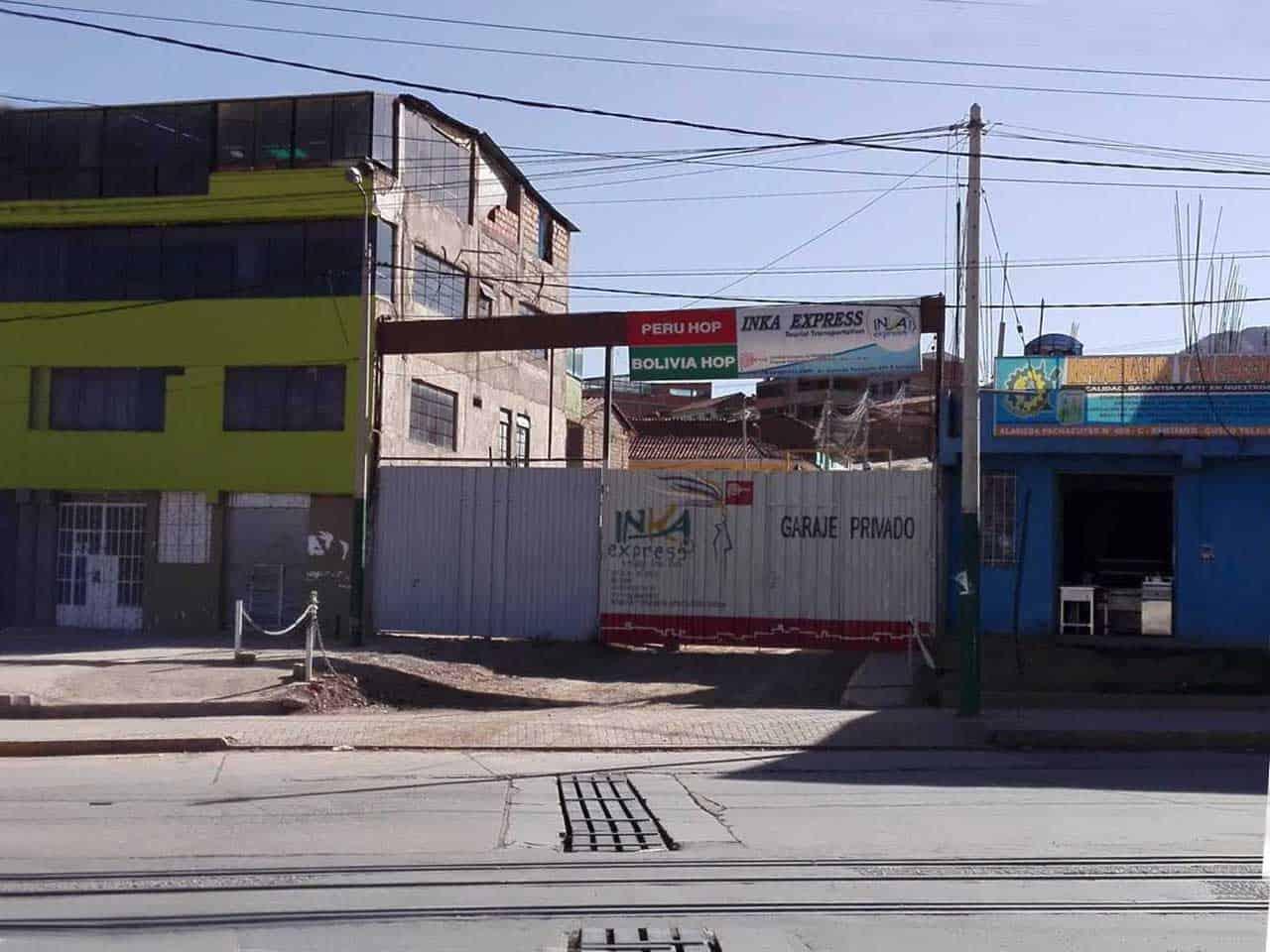 Bolivia Hop Terminal in Cusco