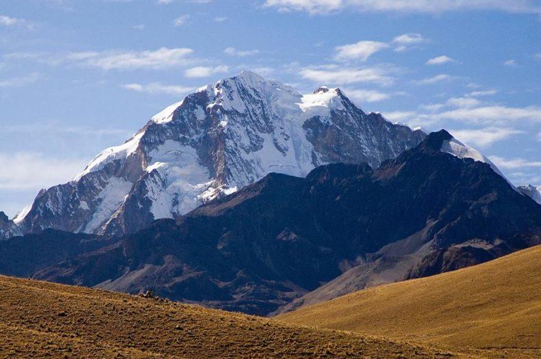 Trekking from La paz - Huayna Potosi