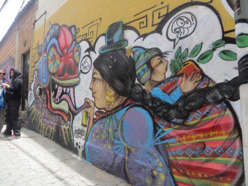The La Paz Witches Market-Aymara Art