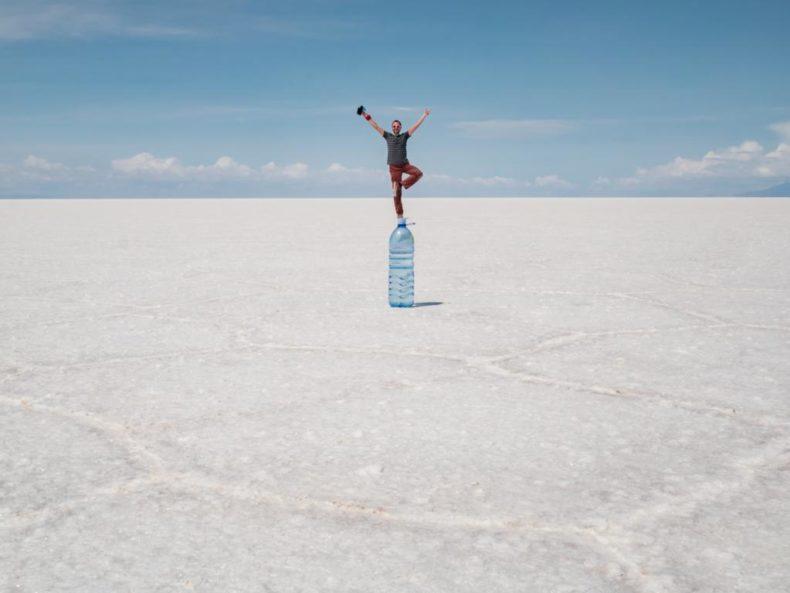 Foto de perspectiva - Salar de Uyuni