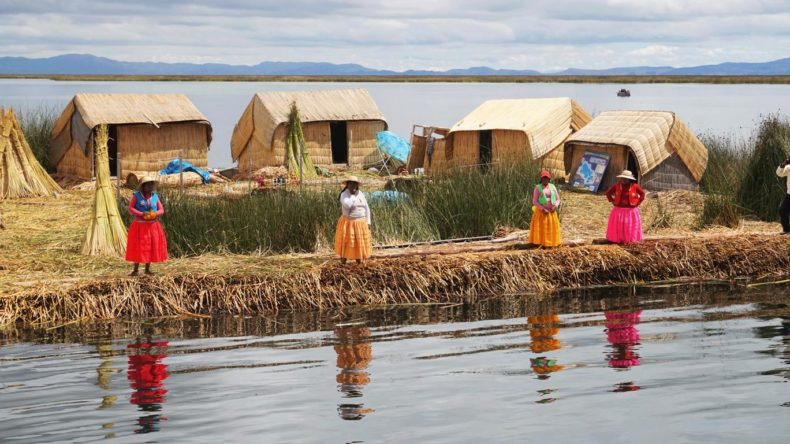 Uros Islands woman