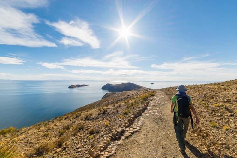 Guia Isla del Sol - Caminhada