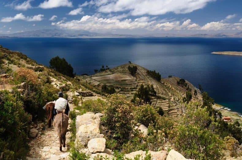 Isla del Sol bolivia - paisaje