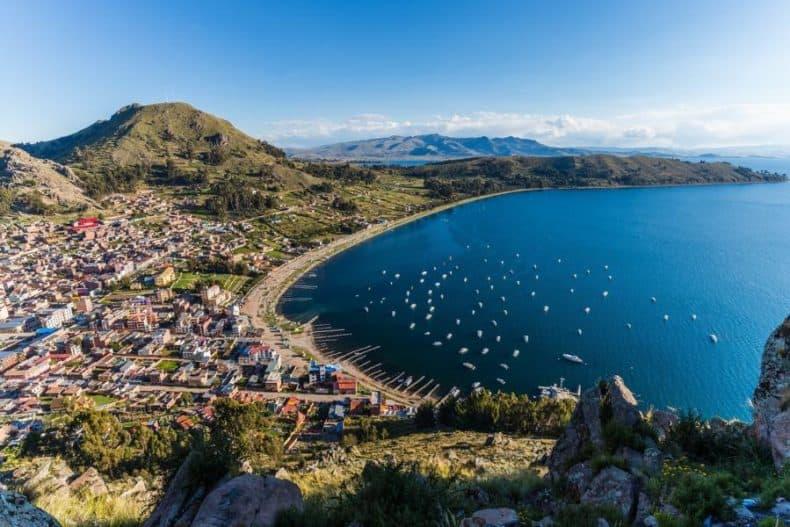 Isla del Sol bolivia - puerto copacabana