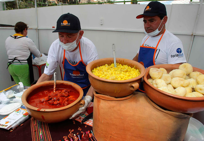 Modongo. Street Food La Paz, Bolivia.