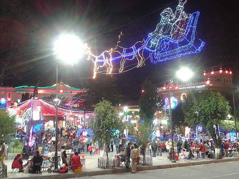 Christmas Market Potosi