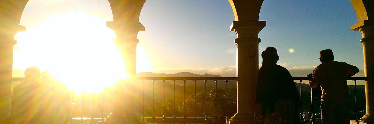 Sucre Bolivia - La Recoleta viewpoint