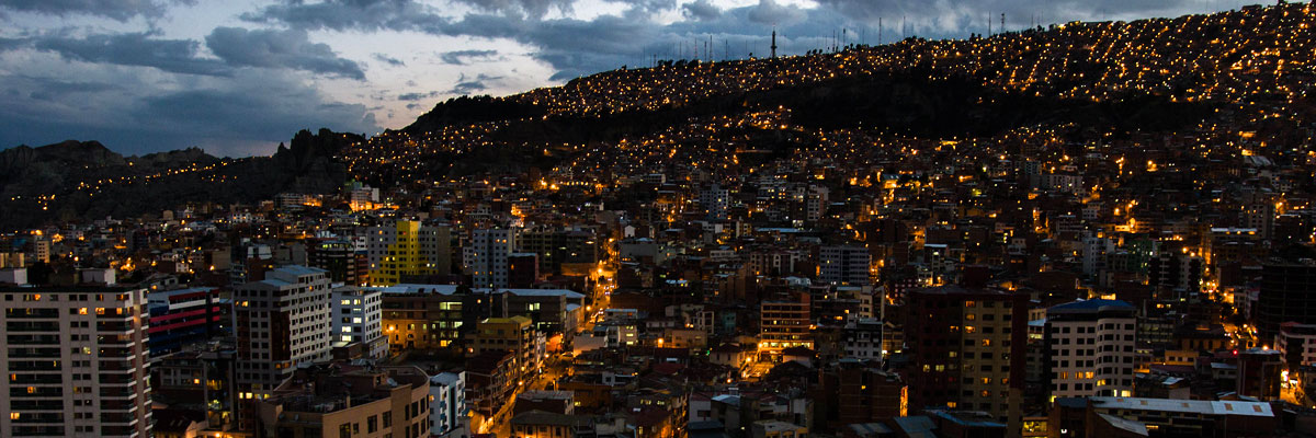 la paz bolivia - night life in sopocachi