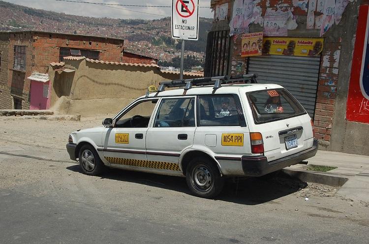 Taxi Transportation in Bolivia