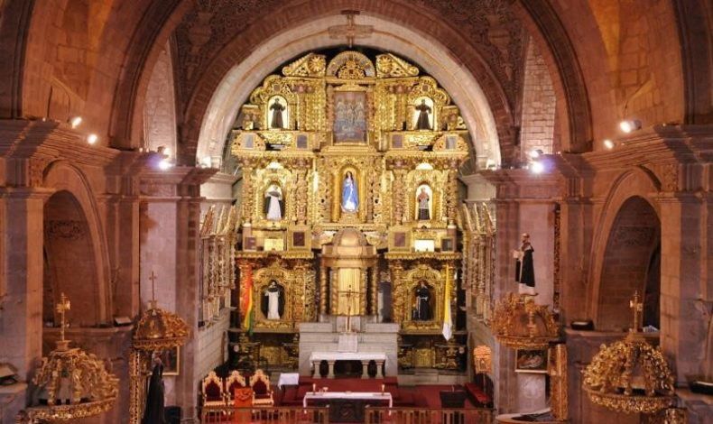 Igreja San Francisco em La Paz