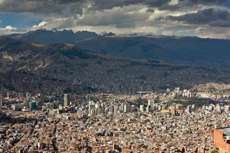 Coisas para fazer em La Paz - Vista da cidade