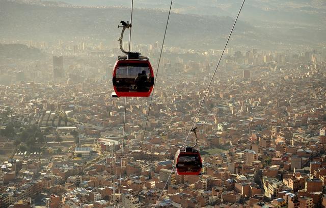 Coisas para fazer em La Paz - Teleferico