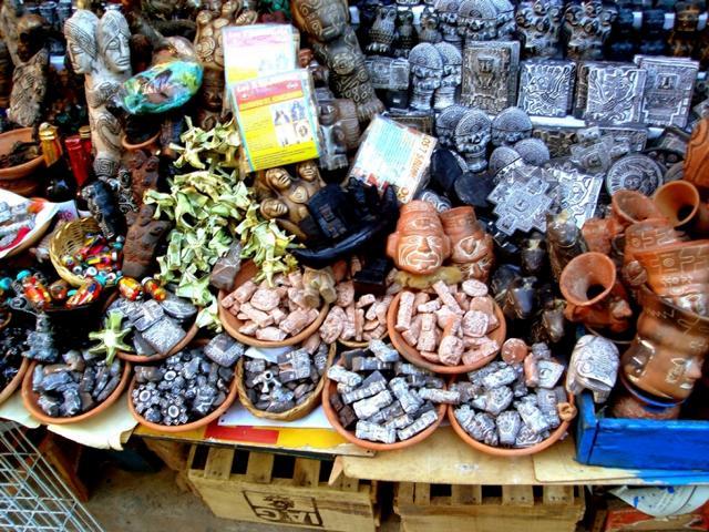 COisas para Fazer em In La Paz - Mercado das Bruxas