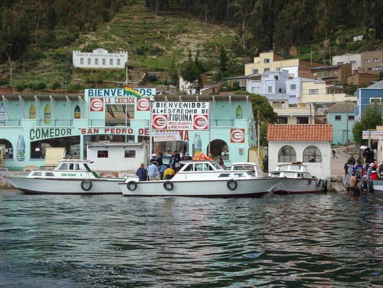 Tiquina Strait Copacabana - La Paz Day Tours