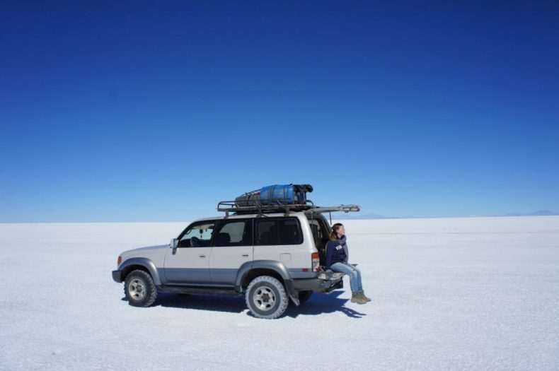 4x4 Transportation in Uyuni, Bolivia