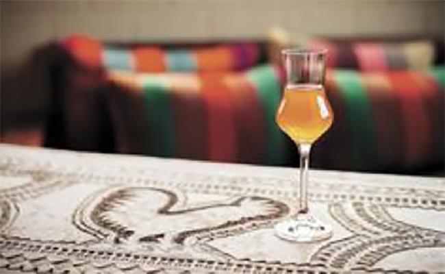 la paz bolivia - coca flavoured singani drink