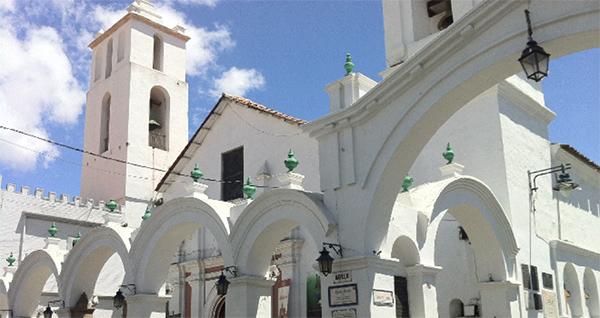 Sucre Bolivia - San Francisco's Basilika
