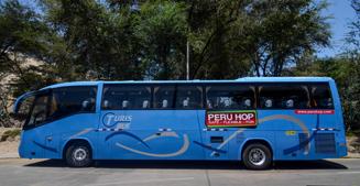 Peru Hop - Our Busses