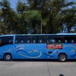 viajando en bus por perú