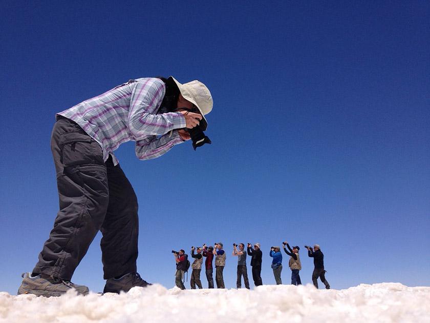Salt Flats - Bolivia Hop