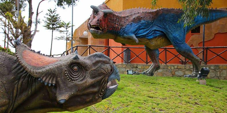 que hacer en sucre: dinosaurios