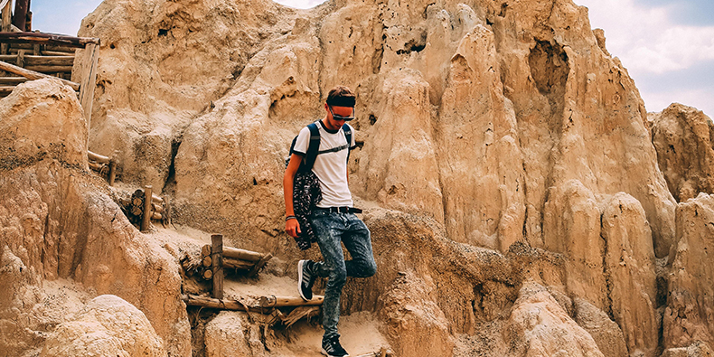 walking on the moon valley